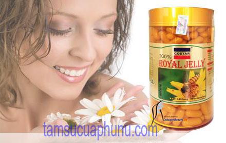 Làm đẹp da với sữa ong chúa Costar - Royal Jelly của Úc
