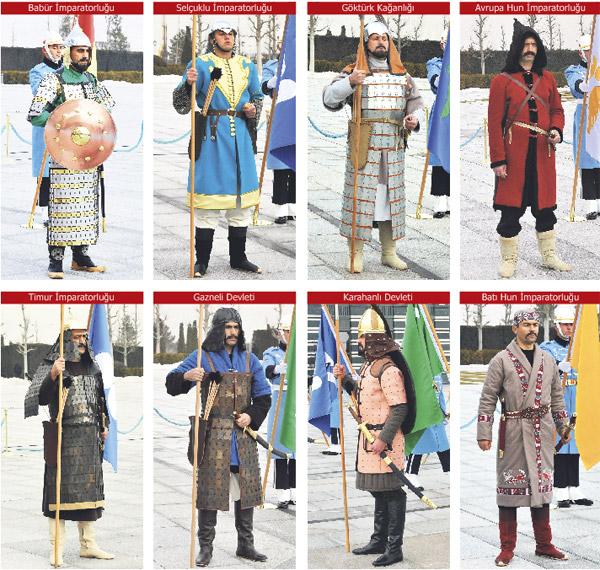 Türk Devletleri Kıyafetleri (Cumhurbaşkanlığı)