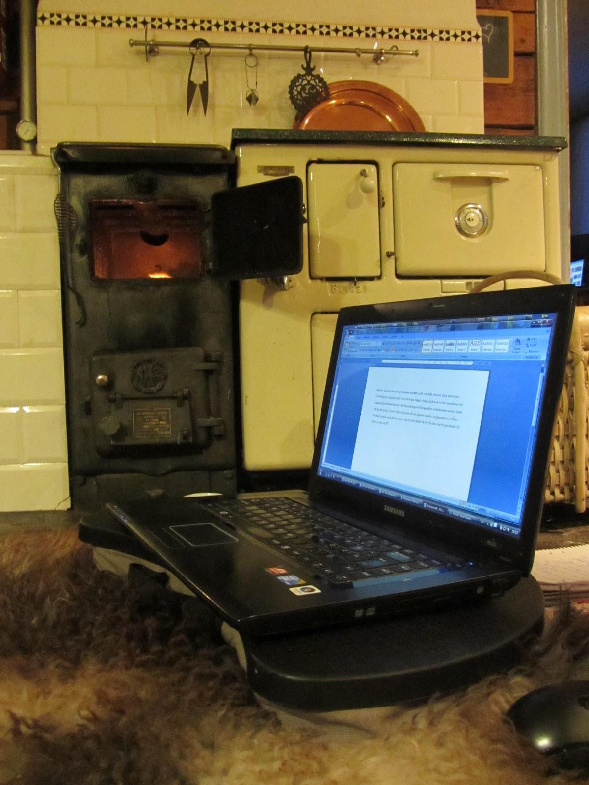 Skrivet om skrivandet