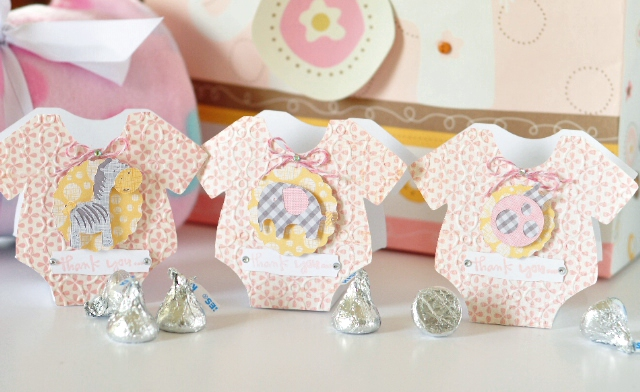 ginger williams cricut baby shower thank you favors