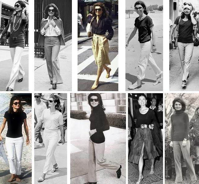 Jackie Kennedy Onassis sporty style