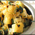 Aloo Gobi Methi Tuk (Potato Cauliflower and Fenugreek leaves curry)