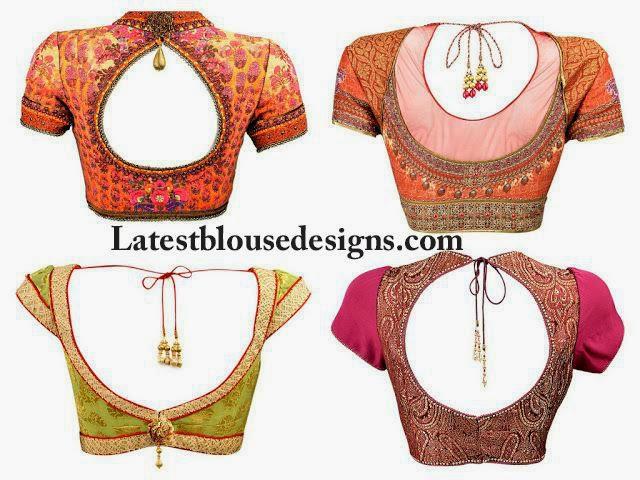 saree blouse patterns 2015