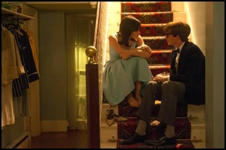 Jones y Redmayne en La teoría del todo (James Marsh, 2014)