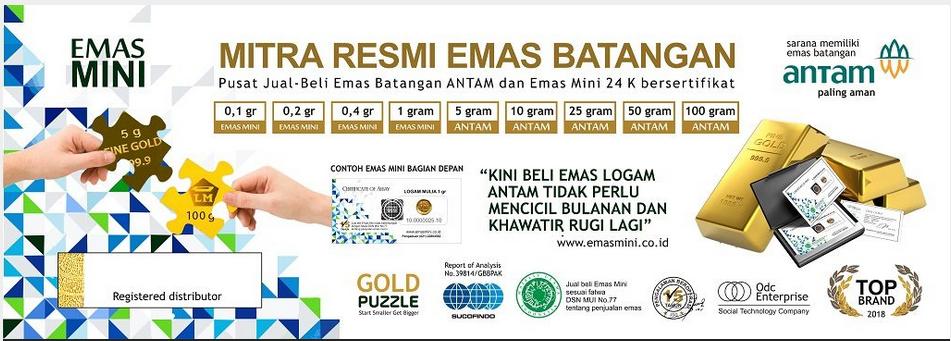 Emas Mini Solusi Investasi Dengan Dana Mini