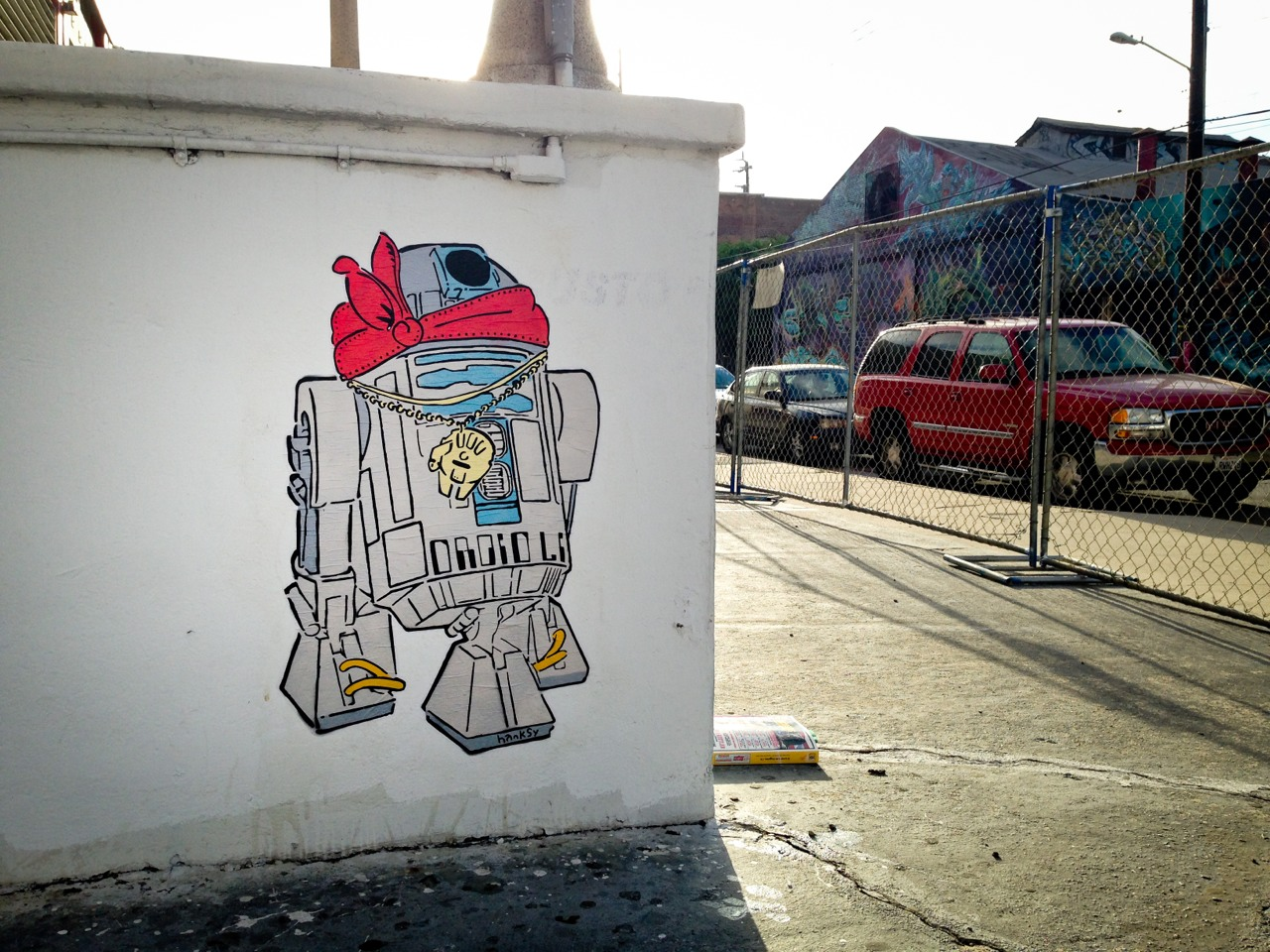 nuncalosabre.Street Art - ©Hanksy