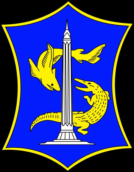 mihardi77: Logo Kota Surabaya