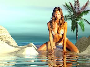 Celebrity Bikini Wallpaper 2
