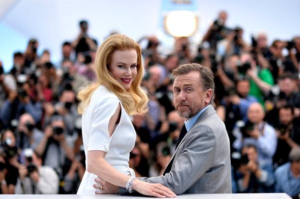 Nicole Kidman y Tim Roth en el photocall de Cannes 2014