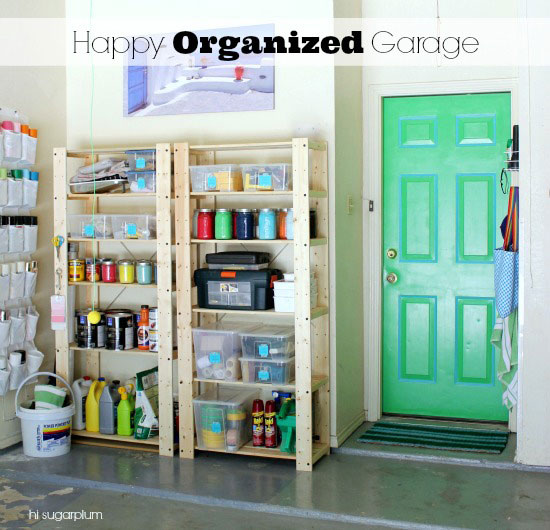 That Concludes The Tour Of Our Happy Organized Garage!! I Thought About  Painting The Walls, Too, But Texas Is Already Near 100 Degrees...ainu0027t  Nobody Got ...