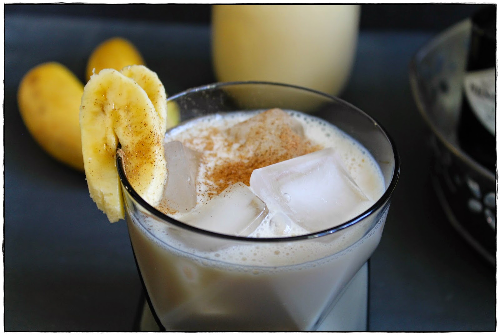 banana cocktail with gin