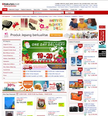 Rakuten.co.id: Toko online murah, serba ada Barang unik Jepang