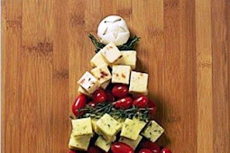 Christmas-themed appetizers. Lots of good ideas here.