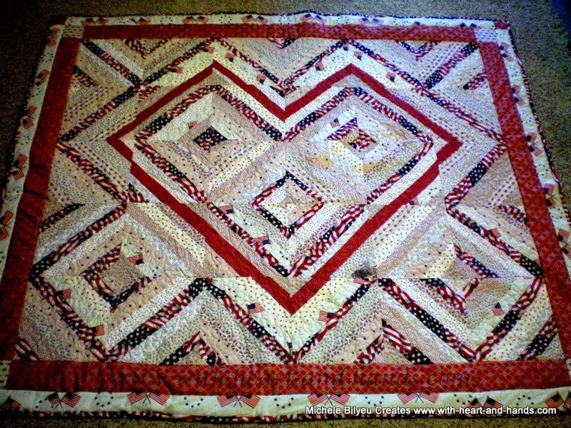 Michele Bilyeu Creates *With Heart and Hands*: String Quilting (Primers and Patterns!)