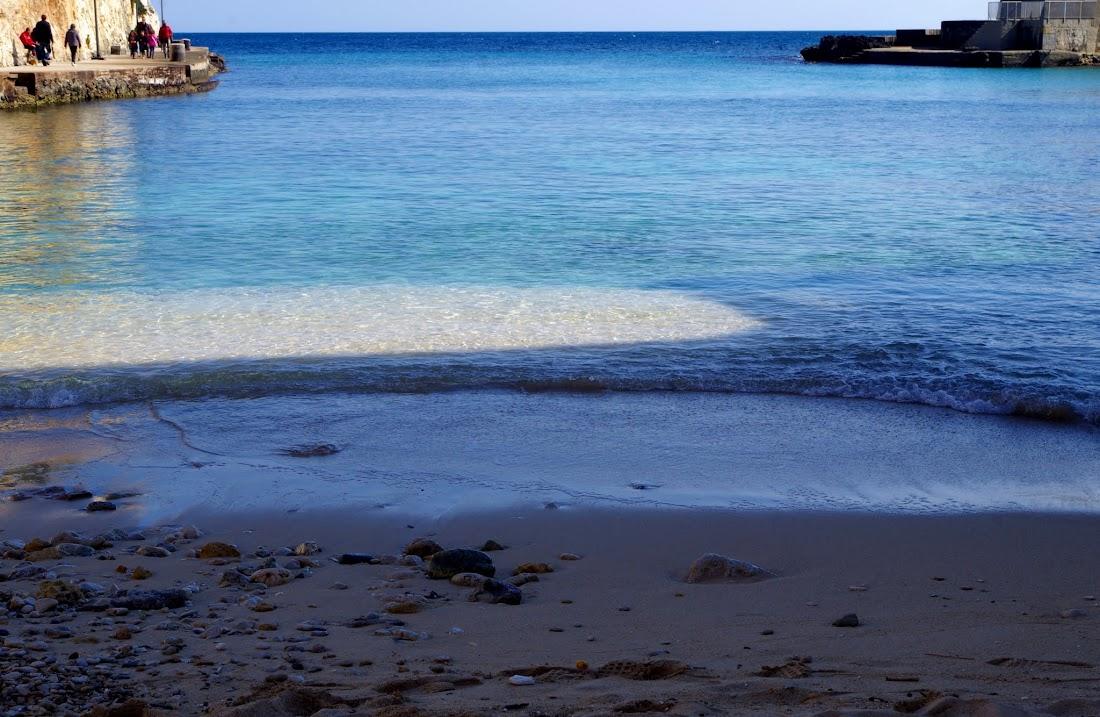 Das Meer bei Tricase Porto im Südosten der Region Apulien