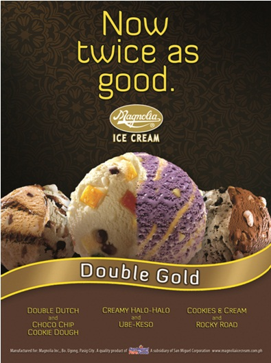 Magnolia Ice Cream Double Gold