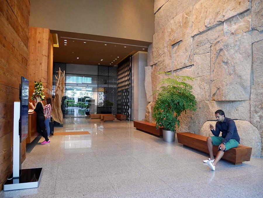 Oasia Hotel Singapore Lobby