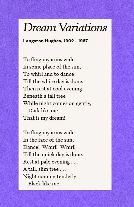 analysis of harlem by langston hughes Jobs at steemit apps built on  major themes in langston hughes's poems  (1316) in 1940 and revised in 1955 by langston hughes during the period of harlem.