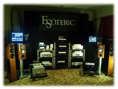 Esoteric Audio Las Vegas Venetian CES 2012