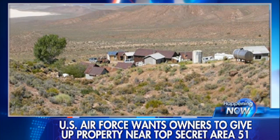Area 51 Ultimatum; Family Charges Air Force with Criminality