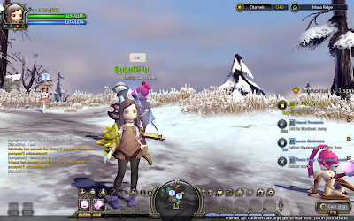 Dragon Nest - Interface