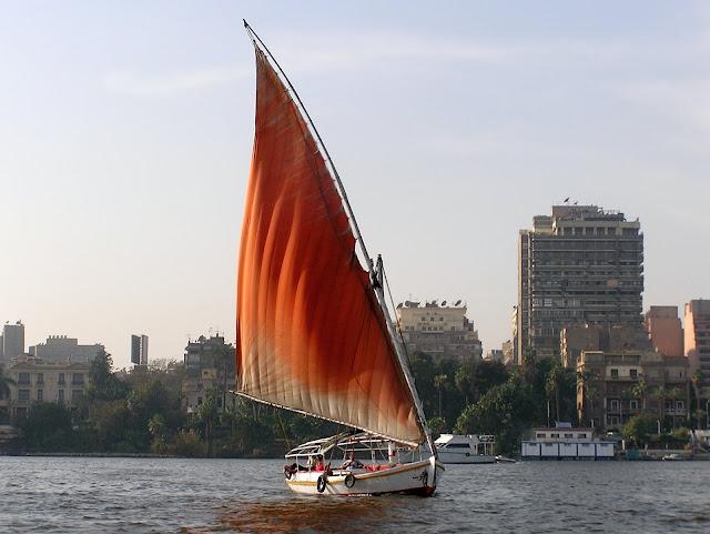 Яхта. Нил. Каир