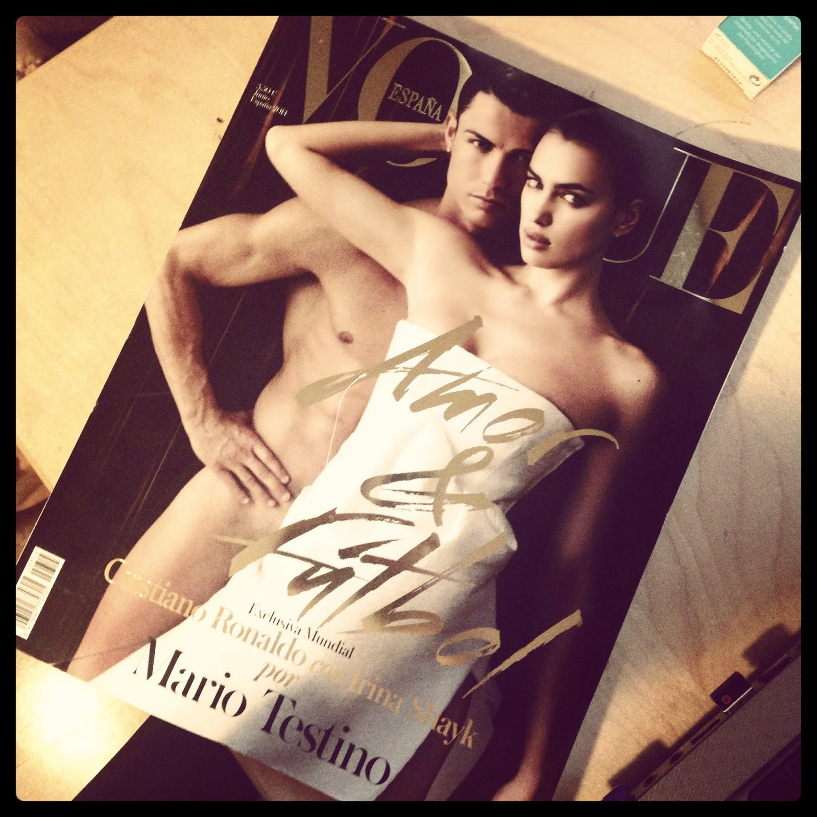 Mario Testino, Cristiano Ronaldo y la portada de Vogue España.