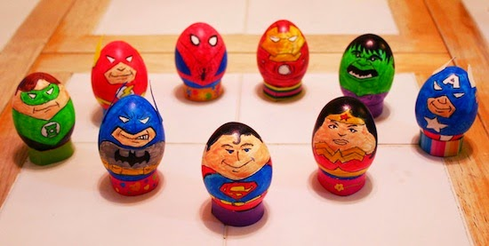 Ovos de Pascoa divertidos