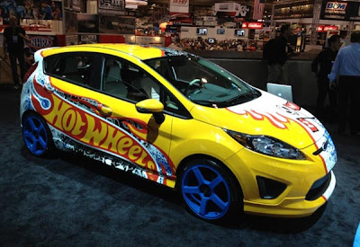 New Fiesta Hot Wheels