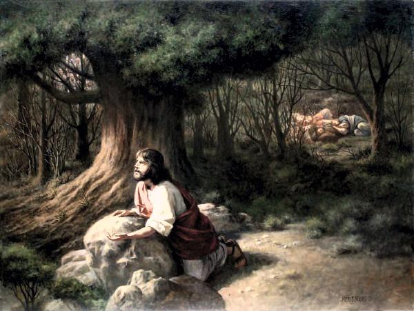 Resultado de imagem para Jesus no Getsêmani