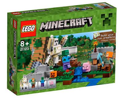 TOYS : JUGUETES - LEGO Minecraft  21123 The Iron Golem  Producto Oficial 2016 | Piezas: | Edad: +8 años  Comprar en Amazon España & buy Amazon USA