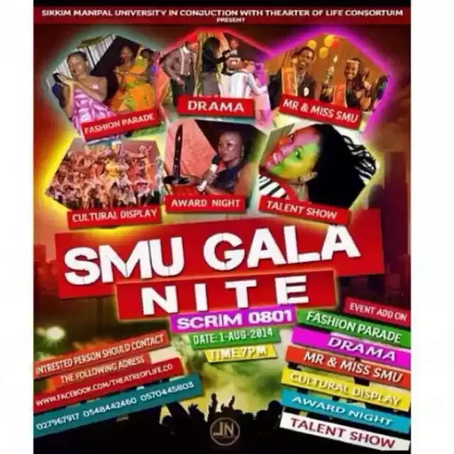 join SMU Gala night today