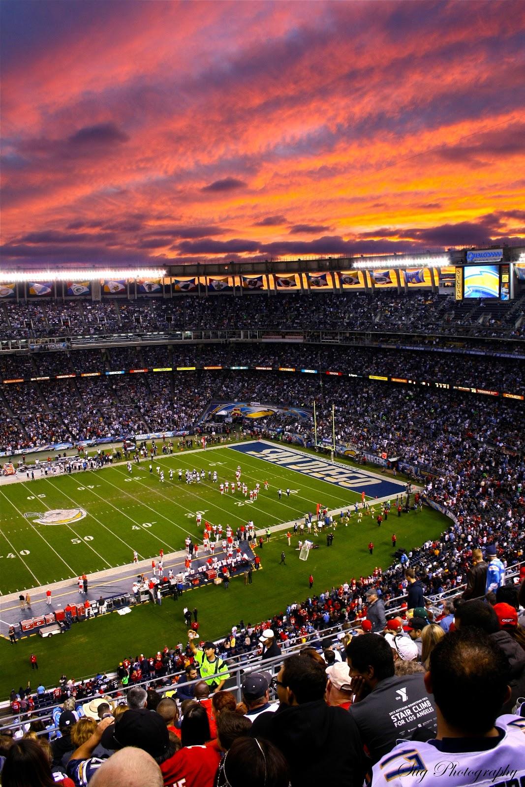 PhotograStig: Session at Qualcomm Stadium with Chargers ... Qualcomm Stadium Chargers