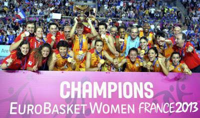España se impuso a Francia por un punto en una emocionante final