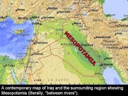 O que significa Mesopotâmia