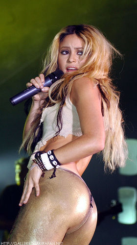 Excellent shakira butt naked idea and