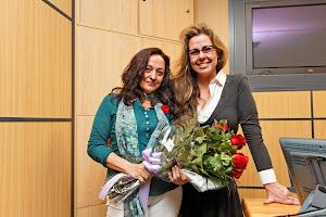 Rosa Mª Miró Pons y Amparo Garrigues