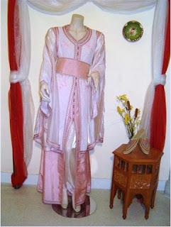 لباس تقليدي مغربي