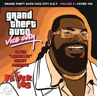 GTA Vice City Fever 105 CD Capa