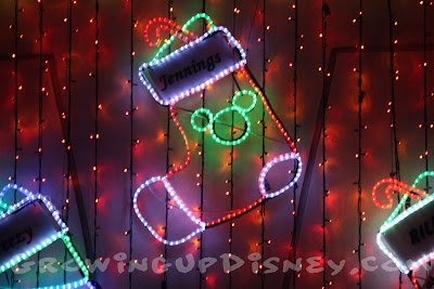 Hidden Mickey at Osborne Spectacle of Dancing Lights