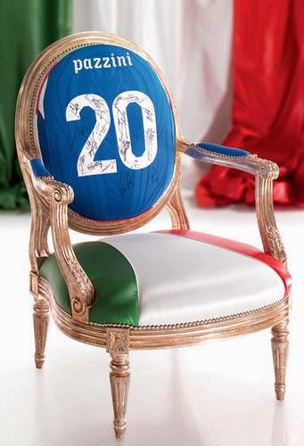 italian furniture modern classic chair using pazzini jersey