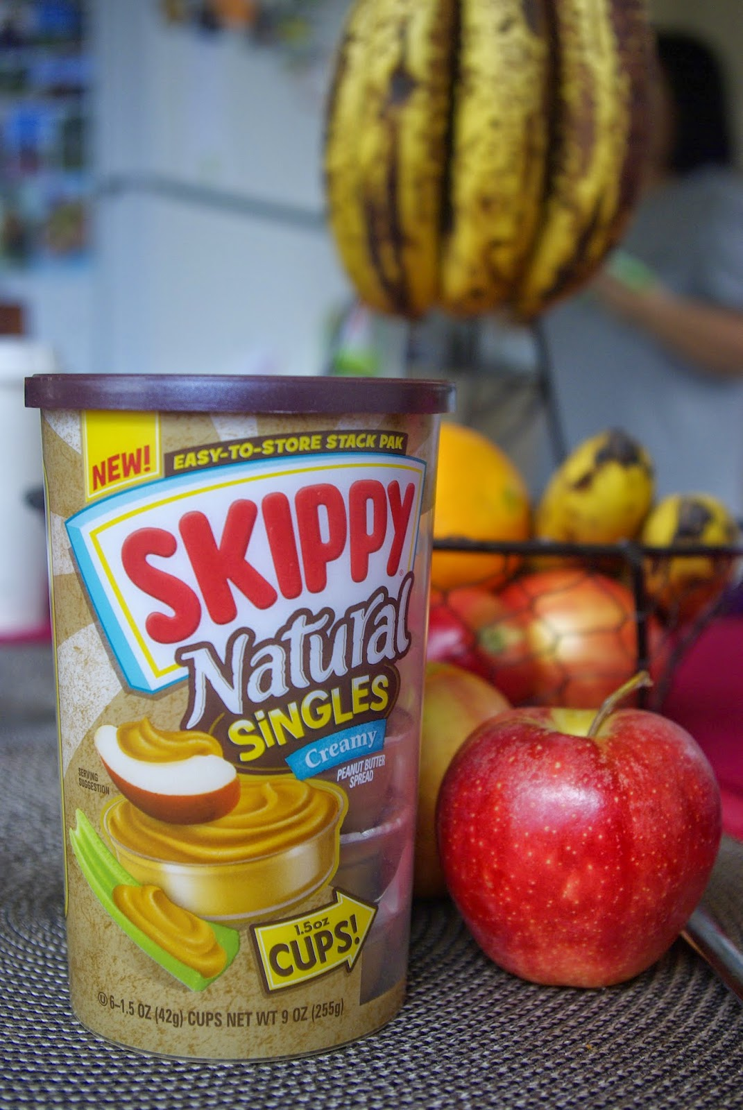 Skippy Natural Creamy Peanut Butter - Singles
