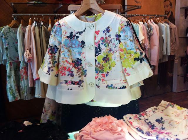 Ted Baker Kimono Print Jacket