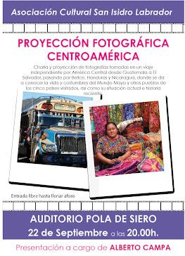 PROYECCION FOTOGRAFICA CENTRO AMERICA