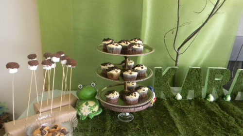 Woodland Party Treats, Woodland Party Dessert Table