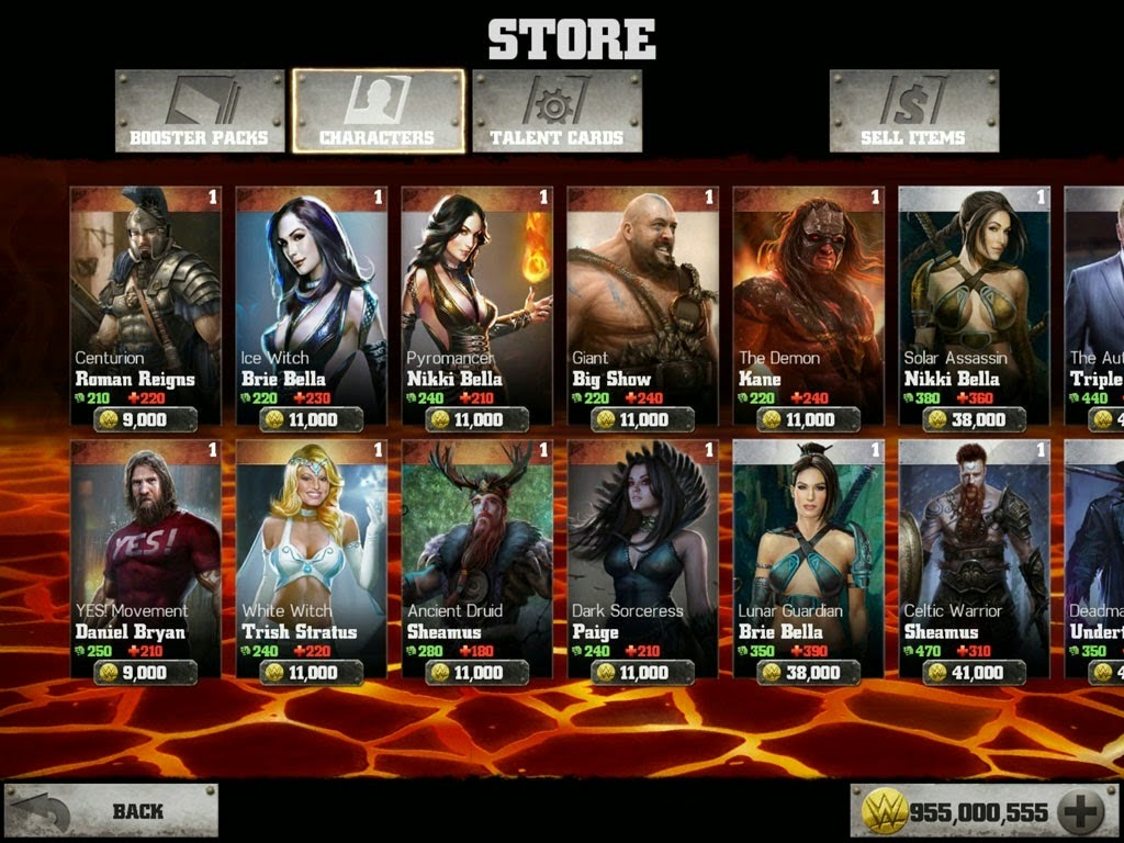 Download Free WWE Immortals Game v1.0 Hack