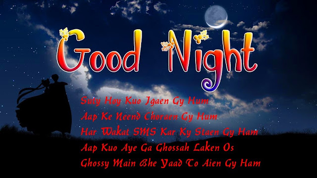 Good Night Wishes SMS Messages In Hindi Images