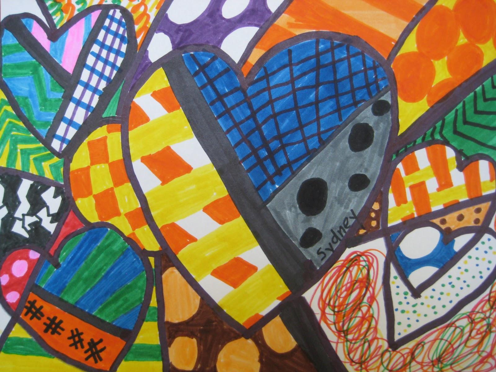Designs Inspired By Romero Britto Teachkidsart