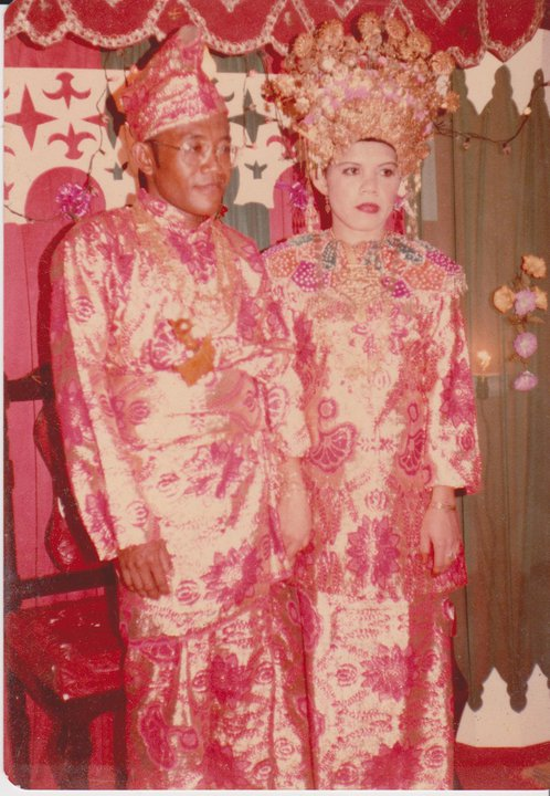 my beloved mummy & daddy wedding