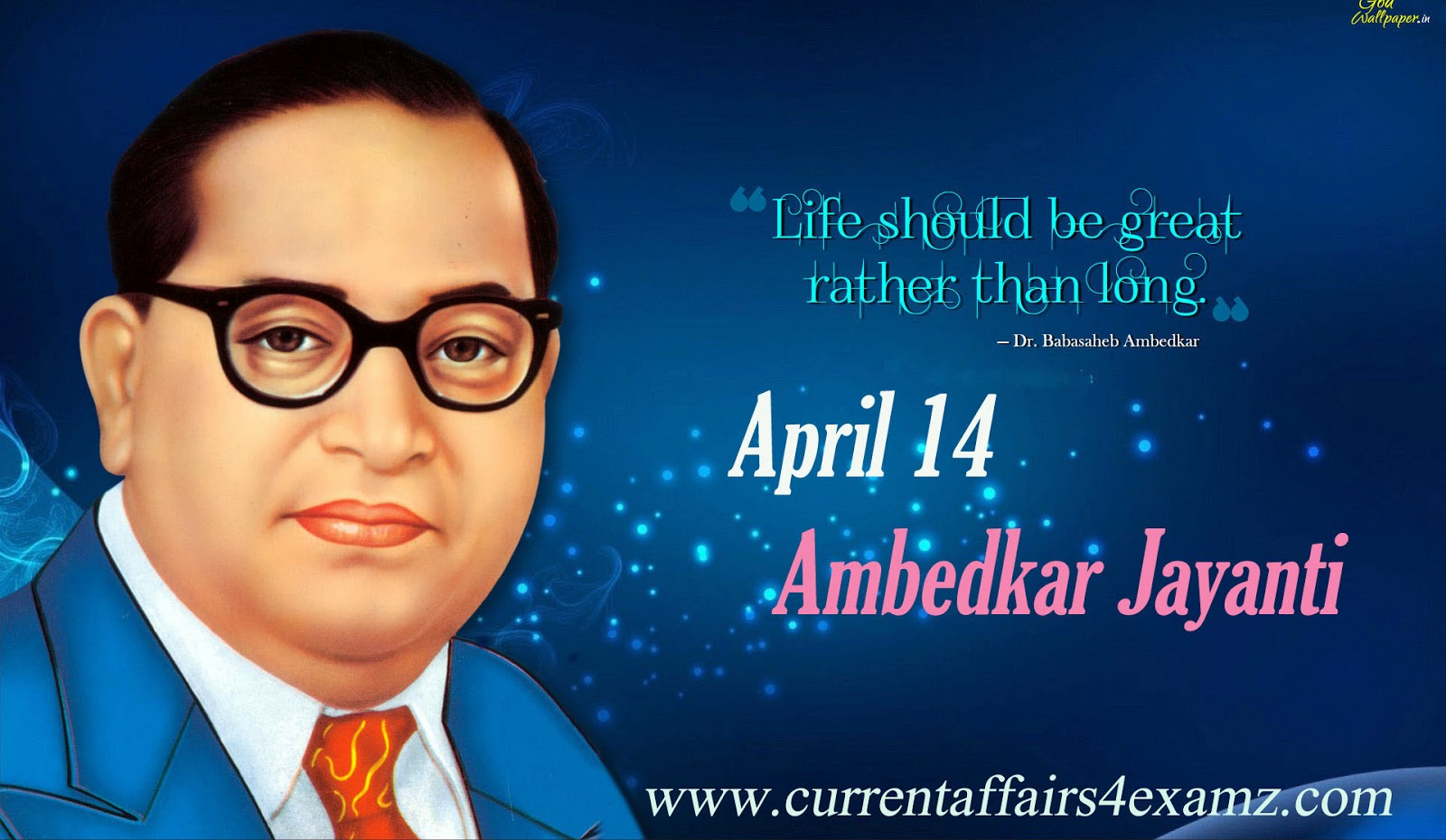 ... 14 every year to commemorate the memory of dr babasaheb ambedkar this